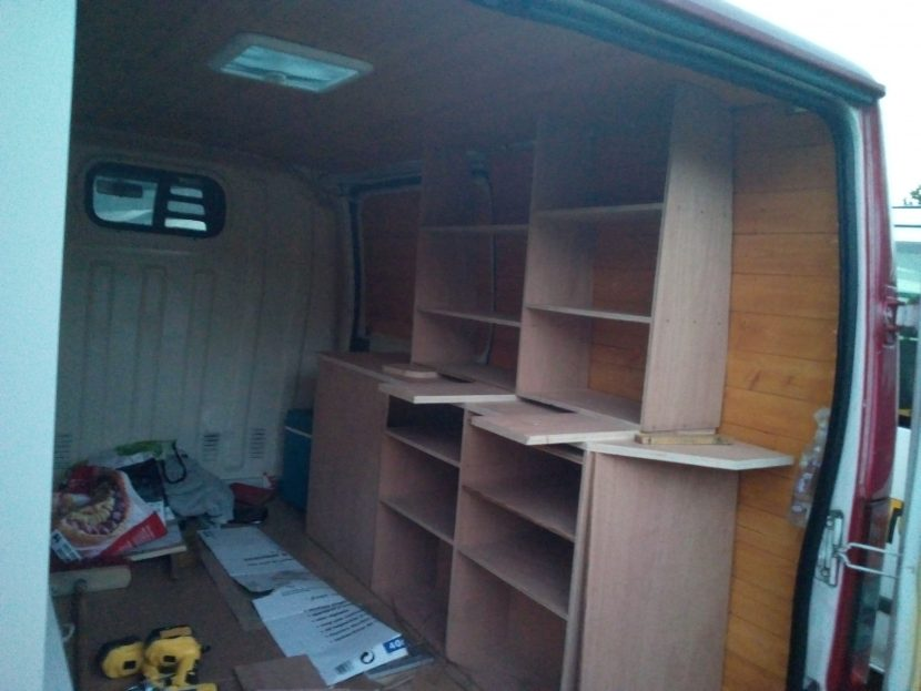 Cabinets and kitchen unit